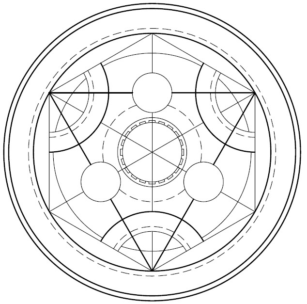 Alchemy symbol by chorynagloweAlchemy Elemental Symbols